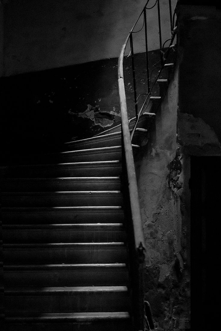 Stairs For Ghosts   © FB Photography  #dark #horror #photography #blackandwhite #ghost #creepy #new #canon #black