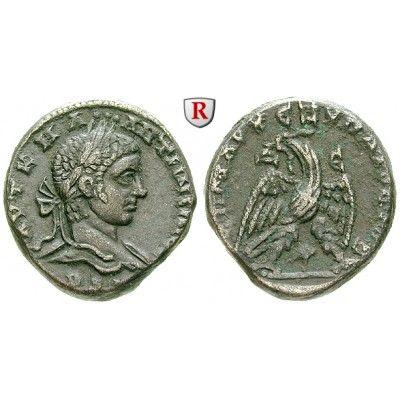 Römische Provinzialprägungen, Seleukis und Pieria, Antiocheia am Orontes, Elagabal, Tetradrachme 219, ss-vz: Seleukis und Pieria,… #coins