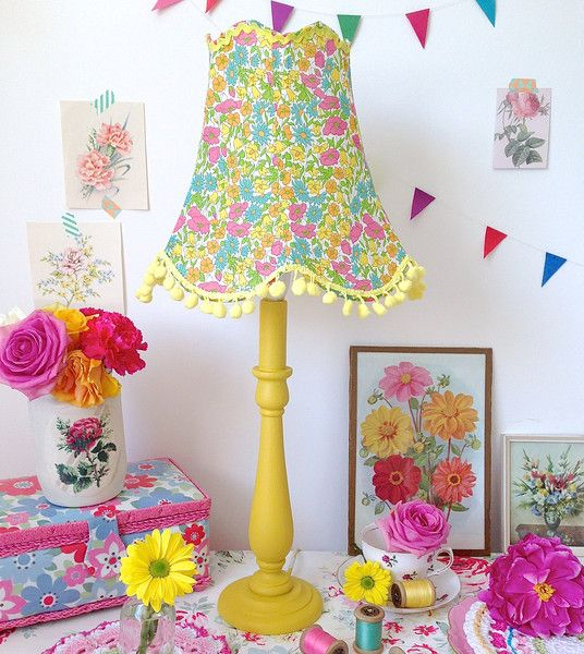 Make it Sewcial... up cycled lampshade – The People shop