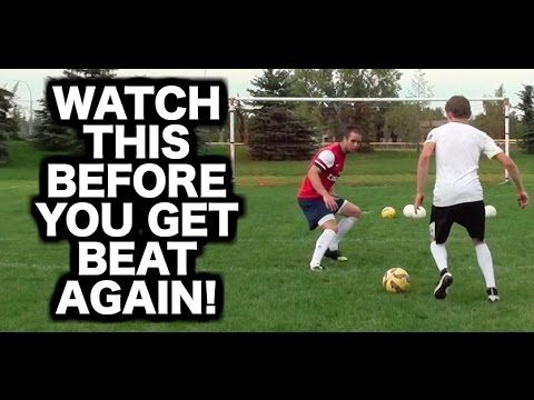 How to defend in soccer football ► How to play defence ► How to be a goo...