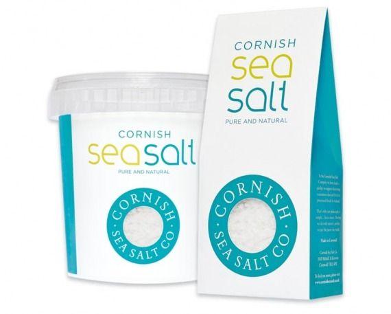 #packaging - Cornish Sea Salt packaging
