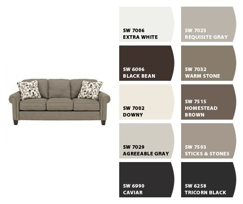 Caviar Amp Agreeable Gray Colorsnap By Sherwin Williams