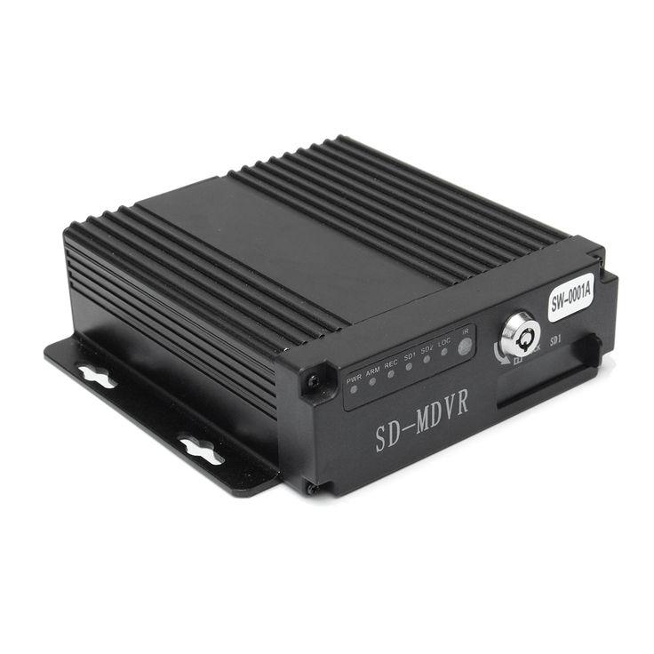 4chcochecámaradeseguridadvehículodecochesmóvil DVR seguridad video grabadora