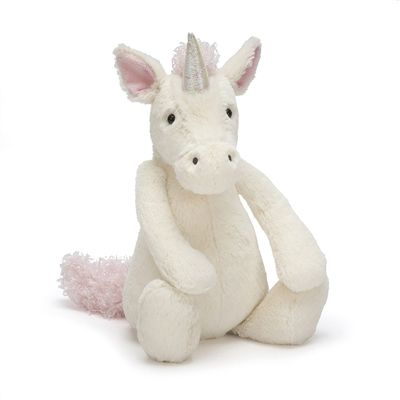 The gorgeous and glittery Jellycat Bashful Unicorn (medium) buy now at www.sayitbaby.co.uk