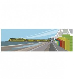 Scarborough, North Bay Beach Huts www.ianmitchell-art.com/index.php/yorkshire-coast-prints