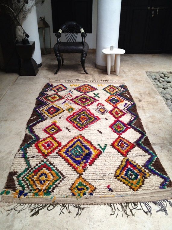 High Quality Colourful Vintage Rugs And More By BazaarLiving On Etsy