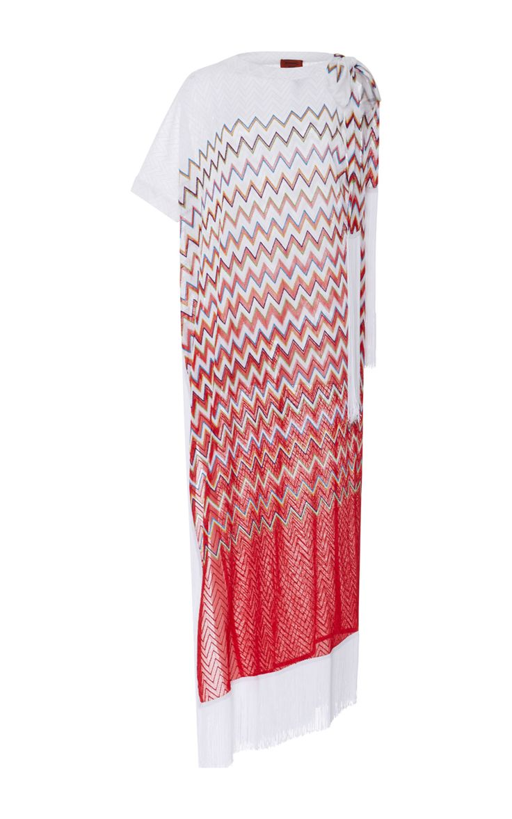 Fringe Maxi Dress by MISSONI MARE Now Available on Moda Operandi