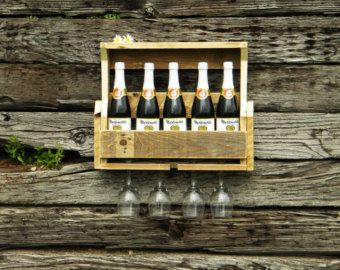 Unique Wine Racks Reclaimed WoodChristmas Gift by JNMRusticDesigns