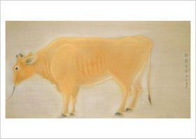 速水御舟(Gyoshū Hayami) photo 「朝鮮牛」