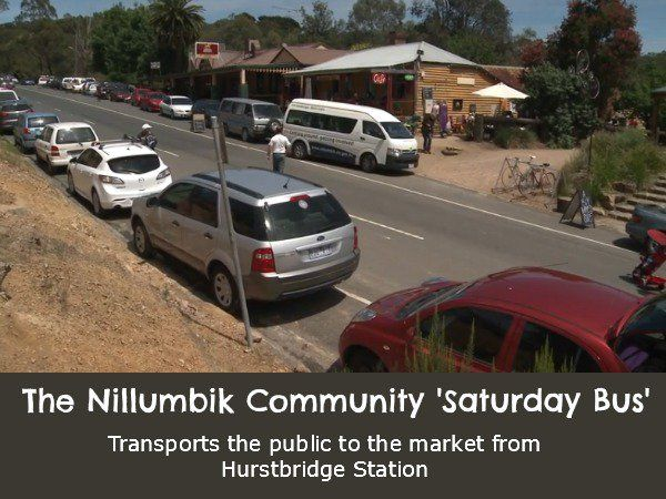 The Saturday Bus to St Andrews Market, north east of Melbourne