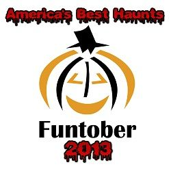 """America""""s Top 100 Haunted Houses in 2013 (with Videos!).  We list the top 100 Funtober Favorite list of the 100 most popular haunted houses in the country.  #haunt #hauntedhouses #haunted #Funtober"""