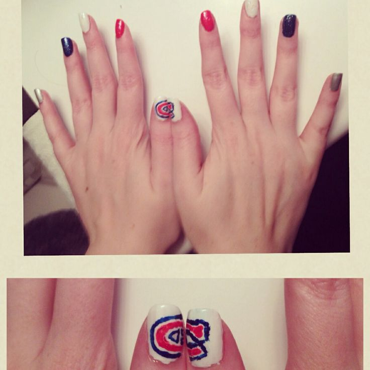 32 best montreal canadiens nails hair and makeup images on montreal canadiens nail art prinsesfo Image collections