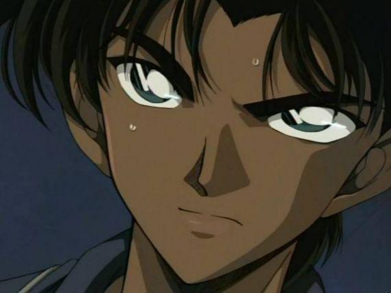 Heiji Hattori (服部 平次), the son of Heizo Hattori, chief of the Osaka Police Department, and his wife Shizuka Hattori. (Detective Conan)