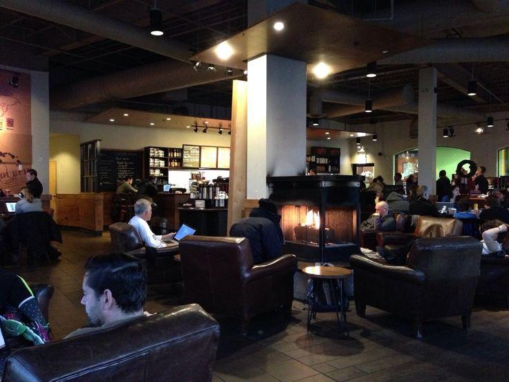 starbucks fireplace - Google-Suche