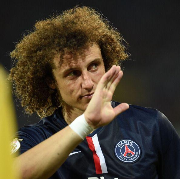 David Luiz - primeiro jogo no Paris Saint Germain
