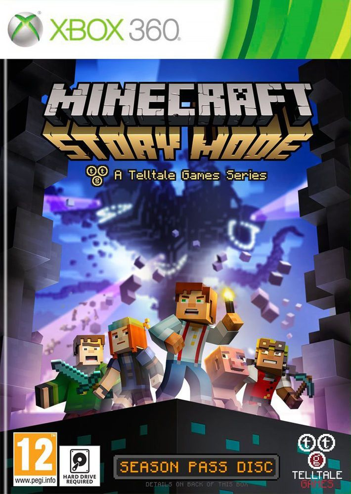 Minecraft: Story Mode - Season Pass Disc (Xbox 360) BRAND NEW AND SEALED in Video Games & Consoles, Video Games | eBay
