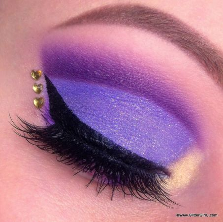 Rapunzel makeup. YouTube channel: https://www.youtube.com/user/GlitterGirlC