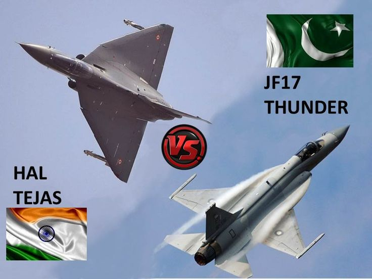 Pakistan: JF17 Thunder vs India: HAL Tejas - Technology