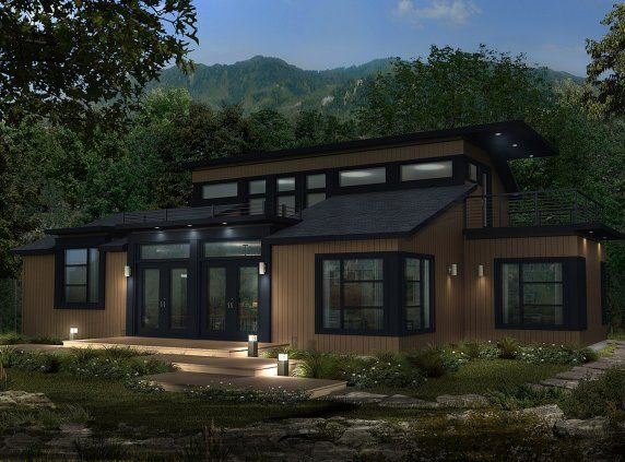 Maison neuve - Cottage, modèle Karma