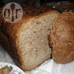 Zdjęcie do przepisu: Chleb z siemieniem lnianym i słonecznikiem