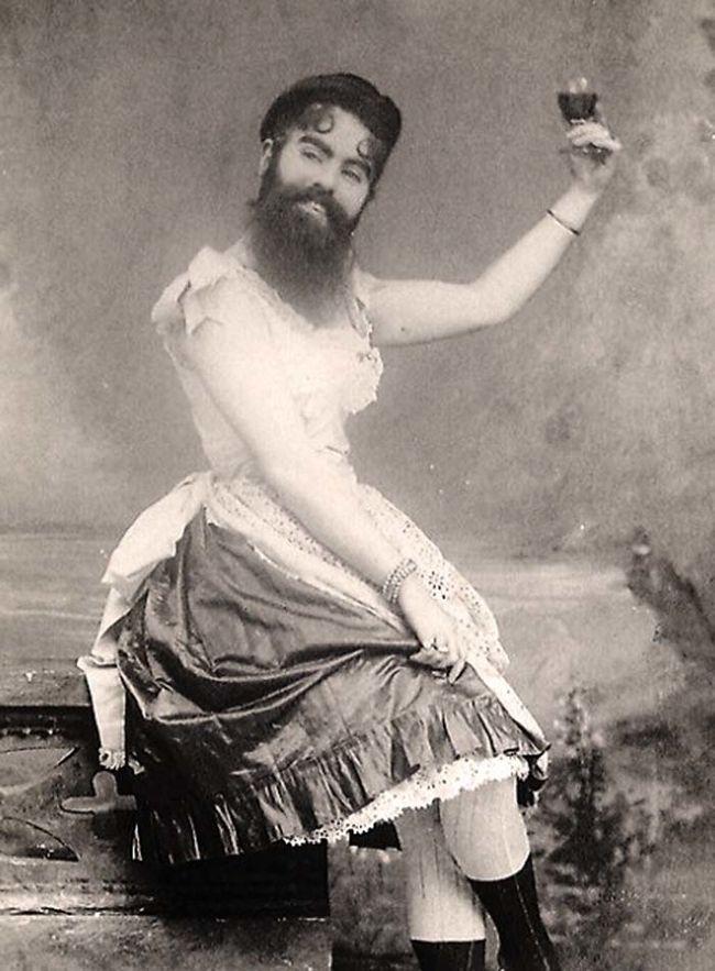 The Bearded Woman A.K.A Annie Jones