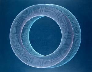 Eduardo Mac Entyre - Pintura Generativa-2 Formas Circulares
