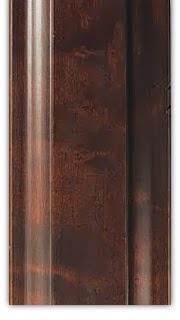 warna finishing furniture cokelat tua