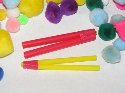 Straw tweezers - this is genius!