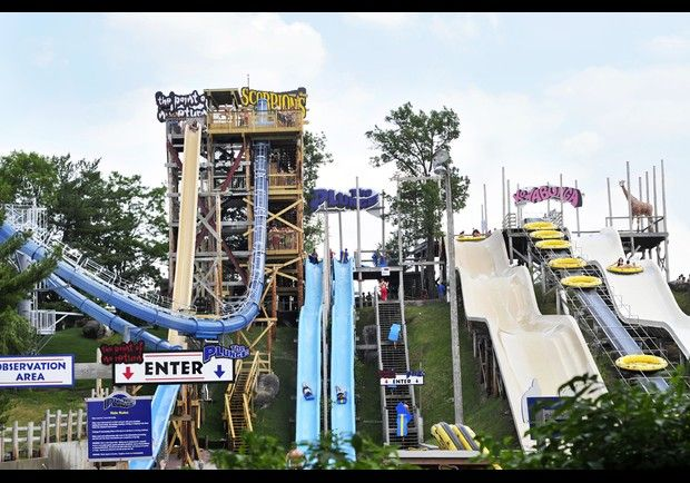 16 miles from Mid-Continent Railway Museum: Noah's Ark, Wisconsin Dells, Wisconsin  America's largest waterpark.