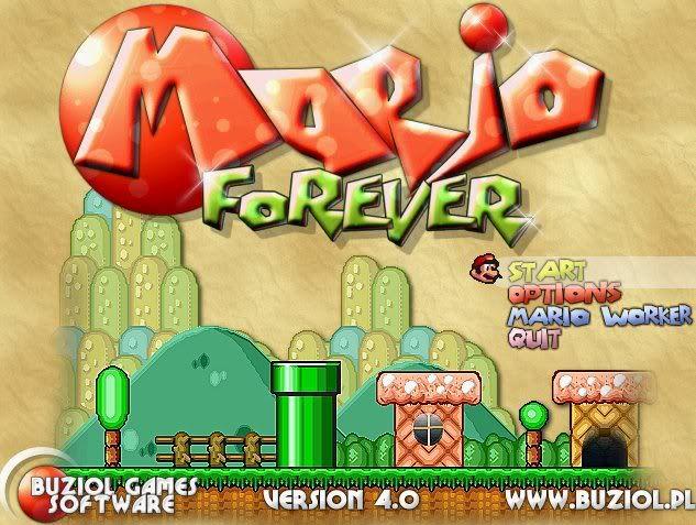 Mario forever world http://www.supermariogame.net/mario-forever-flash.html