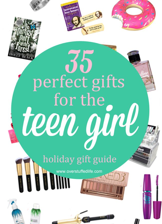 Looking for perfect gift ideas for the teenage girl in your life? You're sure to find something she will love on this list, written by a teen girl! #overstuffedlife