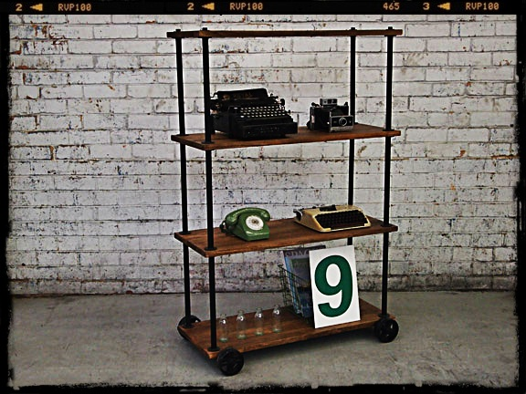 Holy Funk - Industrial Book Shelf, $499.00 (http://www.holyfunk.com.au/sold/industrial-book-shelf/)