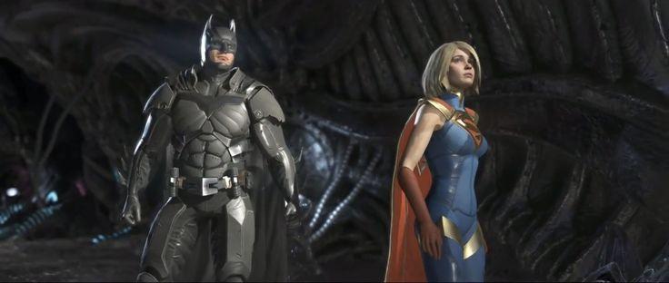 INJUSTICE 2 Supergirl. Batman.