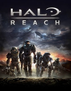 Halo Reach, I really liked this game it almost made me cry...manly tear though