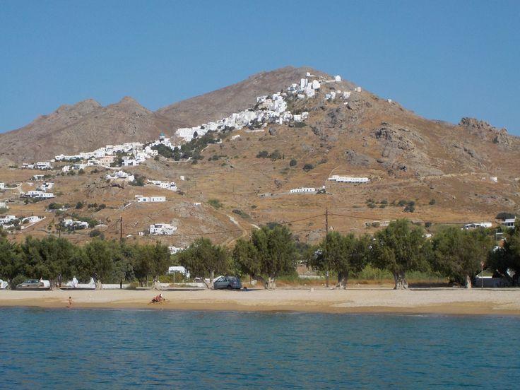 Serifos island,Livadi bay