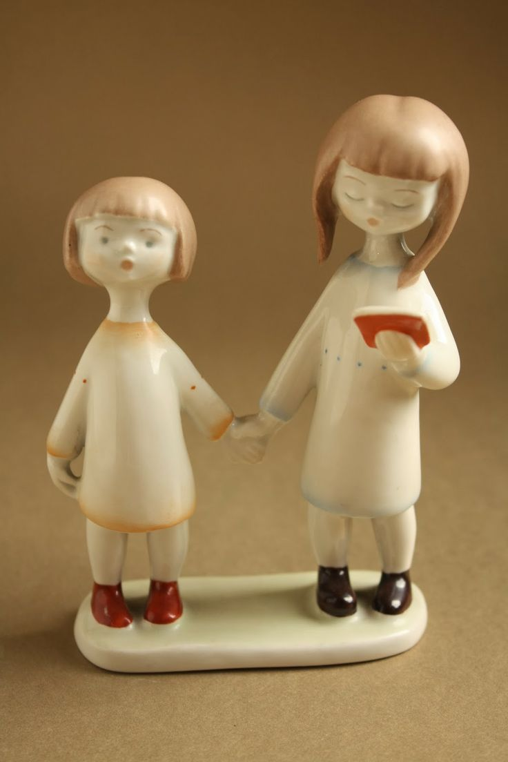 Art deco porcelánok: Testvérek - Aquincum porcelán