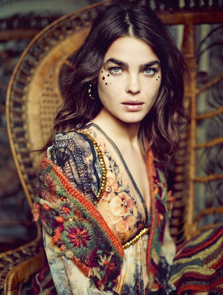 Stunning embroidery and rich bohemian earth tones in this hippy chic Russian folk floral tribal easy to wear style