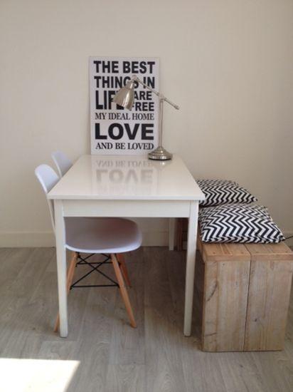 17 beste idee n over klein appartement wonen op pinterest decoratie klein appartement klein - Appartement decoratie ...