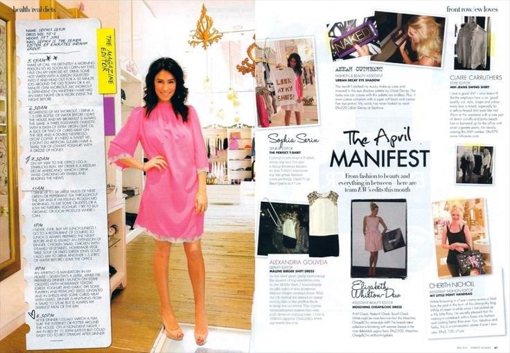 "The beautiful @sophia_serinEW from @EW_Magazine wearing the ""Retro Tunic"" in neon coral <3: Neon Coral, Beautiful Sophia Serinew, Retro Tunics, Ew Magazines Wear"