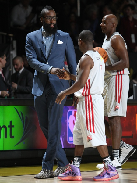 NBA All Star weekend  James Harden