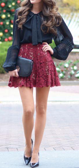Love that skirt . . .