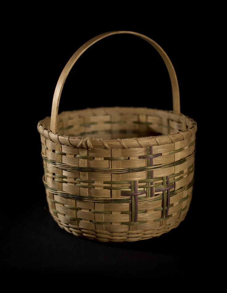 """The Hospitality"".  A large basket with a message of appreciation for sharing your home ."
