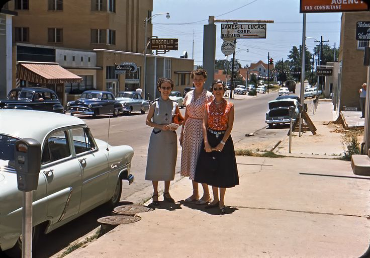 Take a look at today's photos, featuring Magnolia, Arkansas (only about 20 miles north of the Louisiana border), from sometime in the mid-1950's. Description from gorillasdontblog.blogspot.com. I searched for this on bing.com/images