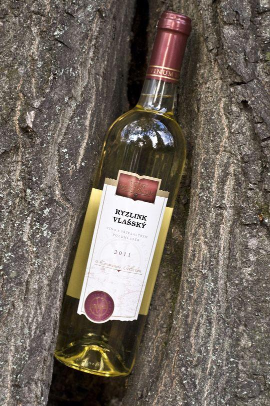 Bílé víno - Ryzlink vlašský 2011 Pozdní sběr - Vinum Moravicum a.s.