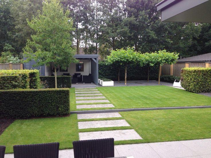 Afbeeldingsresultaat voor tuin gazon