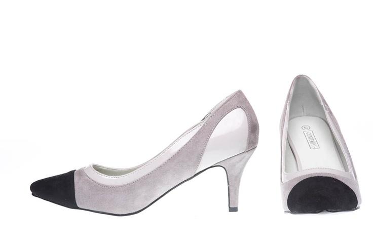 Grey, Silver & Black heals from Contempo - R275