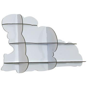 iBride Nimbus Large Cloud Shelf - Style # NIMBUS, Modern bookcases, contemporary bookcases, books shelves at SWITCHmodern.com