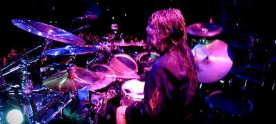 "MetalRockNews: Video - Slipknot's Jay Weinberg ""Killpop"" performance in Mansfield"