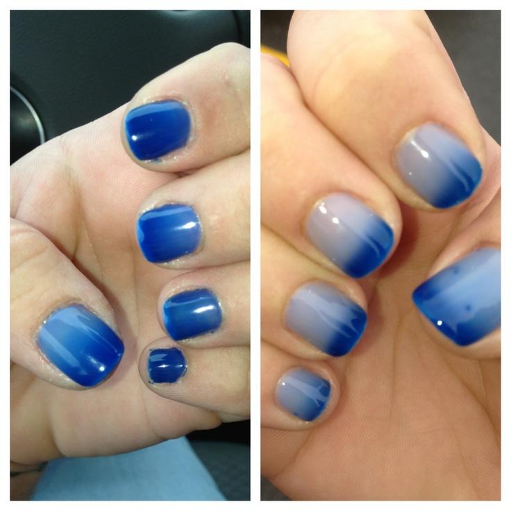 Mood color changing gel polish!   Gel nails!!!! Stiletto ...