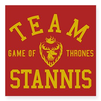 GOT Team Stannis Sticker  Team Stannis. For fans of the stern Baratheon brother from TV show Game Of Thrones, GOT.